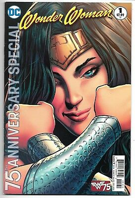 Wonder Woman 75Th Anniversary Special #1 Nm- 2016 Variant Cover C Dc Comics