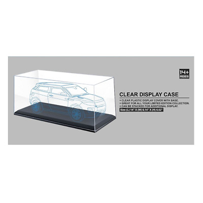 AT Collections – 1/18 Scale Clear Display Case 35.5cm x 15.6cm x 15.3cm