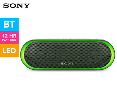 Sony Extra Bass Portable Wireless Bluetooth Speaker - Green