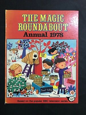 Magic Roundabout T.v Annual From 1978