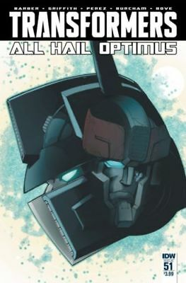 Transformers #51 (NM) `16 Barber/ Griffith/ Perez