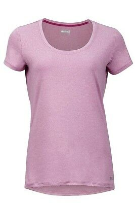 Marmot Womens All Round Tee Short Sleeve - Hydrangea Heater