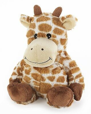 Intelex Microwave Cozy Plush Giraffe Microwavable Heatable Bed Time Soft Teddy