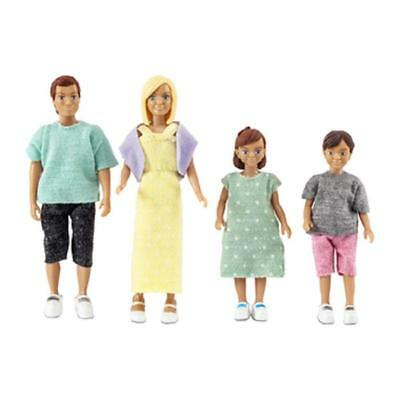 Melody Jane Puppenhaus Lundby Modern Familie Mum Dad with 2 Kinder a Boy Mädchen