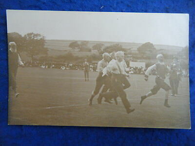 Ulverston: Coronation Sports, 1911, Old Men's Race - Rare Real Photo Postcard!