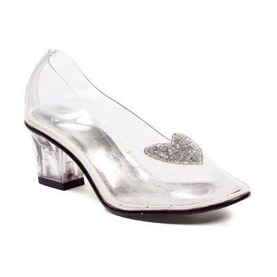 Clear Glass Slippers Disney Princess Cinderella Costume Toddler Girls Shoes