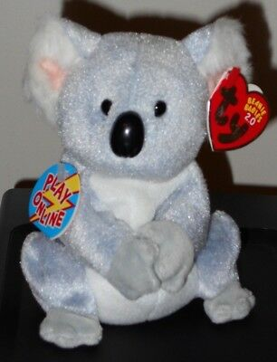 NMT* Ty Beanie Baby BB 2.0 ~ AUSSIE the Koala Bear ~ MINT with NEAR MINT TAGS