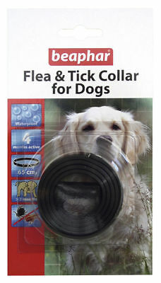 Beaphar Flea & Tick Remedy For Dogs Water Resistant Adjustable Collar Bulk Deals