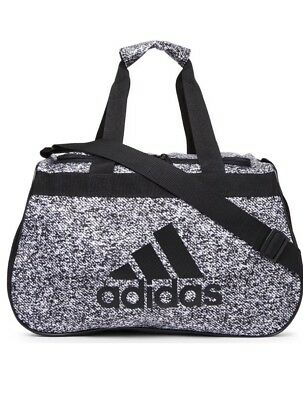 28d521ac88 NWT ADIDAS DIABLO SMALL DUFFEL Gym Bag For Women Men Big Boy Grey