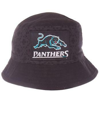 351192 Penrith Panthers Nrl Team Coloured Kids Youth Childs Bucket Hat