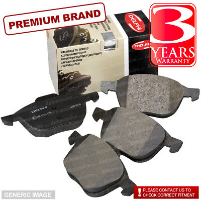 Rear Delphi Brake Pads Full Axle Braking Set Opel Monterey B 3.0 DTI 3.5 V6 24V