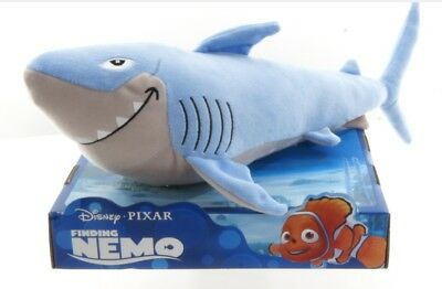"Official Brand New 10"" Finding Nemo Soft Toy Bruce Shark Soft Plush Toy"