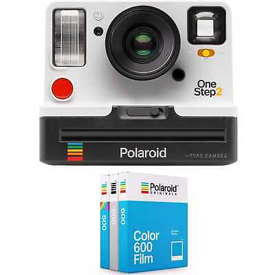 Polaroid Onestep2 i-Type Camera (White) with 600 Core Film Triple Pack