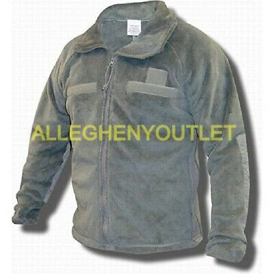 US Military Army Gen 3 Foliage Green Polartec Fleece Jacket XS, S, M, L, XL VGC
