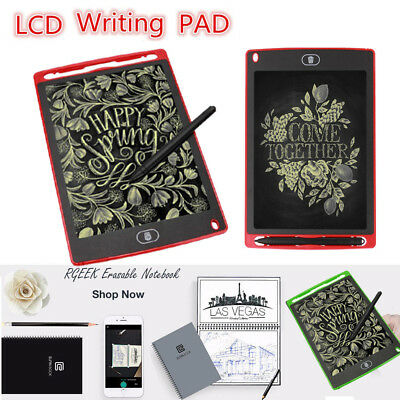 LCD Writing Pad Notepad Electronic Drawing Tablet Graphics Board Paperless Memo