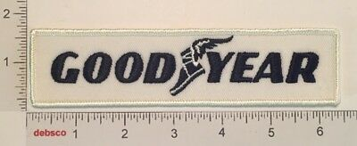Vintage GOODYEAR TIRES Good Year Racing Car Truck Embroidered PATCH