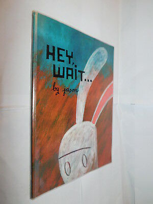 Hey, Wait... by Jason PB graphic novel 1st edition 2001 EX-LIBRARY
