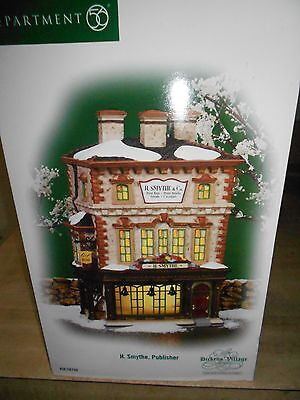 DEPT 56 DICKENS' VILLAGE H. SMYTHE, PUBLISHER NIB *Still Sealed*