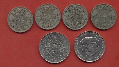 1948-1981 Great Britain England crown world coin lot