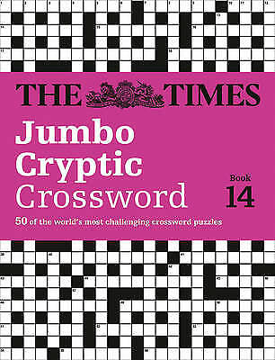 The Times Jumbo Cryptic Crossword Book 14, The Times Mind Games,
