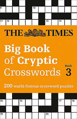 The Times Big Book of Cryptic Crosswords Book 3, Times Mind Games,