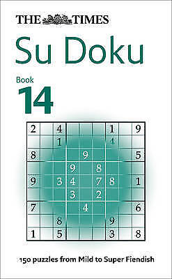 The Times Su Doku Book 14, The Times Mind Games