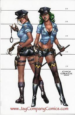"Tomb Raider #16 Jay Company ""Busty Cops"" Virgin Edition NM/NM+ Limited to 100"