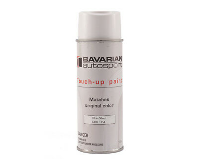 Touch Up Paint - 12 oz Spray Can BMW Paint Code 354 - Titanium Silver