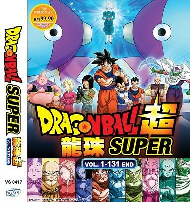 *Neu* DRAGON BALL SUPER Box Set | Eps. 001-131 | English Subs | 11 DVDs (VS0417)
