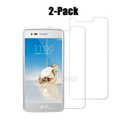 2x High-Quality Premium Real Tempered Glass Film Screen Protector for Cellphone
