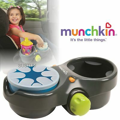 Munchkin Kids' Deluxe Snack and Drink Pod│Baby Travel Pot│Ajustable Food Bowl│