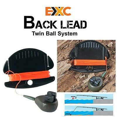 EXC Absenkblei - Back Lead Twin Ball System 75g