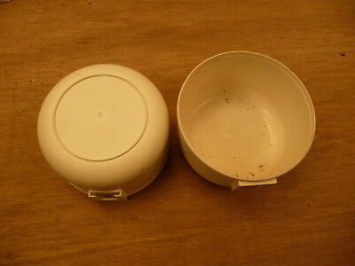 Knitting machine accessories pots tubs containers x 2 pieces 11x6.5cm .. E