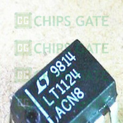 1PCS LT1124ACN8 IC OP-AMP LOW NOISE DUAL 8-DIP 1124 LT1124