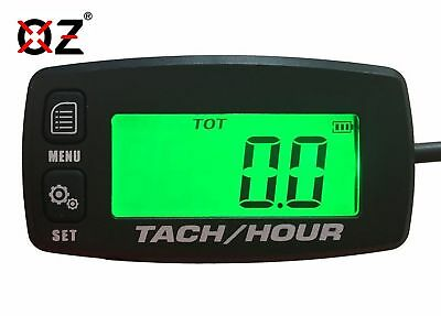 Tach Hour Meter tachometer RPM backlit display OZ-USA® motorcycle atv dirtbike