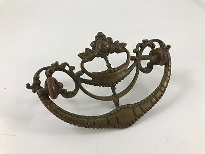 Antique/vintage Ornate Brass Drawer Pull
