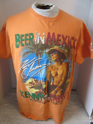 2013 Kenny Chesney No Shoes Nation Concert Tour T-Shirt Size Large