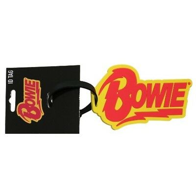 David Bowie Logo ID / Luggage / Bag Tag - Deluxe Bowie Rock & Roll Collectible