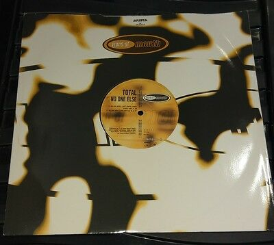 """Total - No One Else 12"""" Vinyl Single. 1996 Word Of Mouth. Arista Records"""