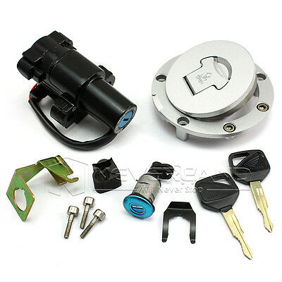 FUEL GAS CAP Seat Lock Ignition Switch Set Fit Honda CBR600
