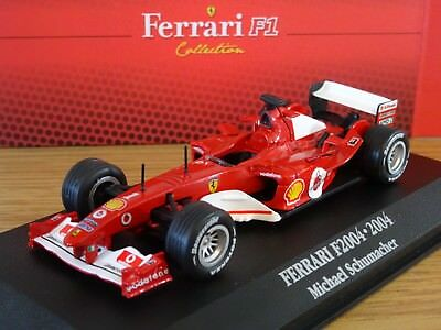 Atlas Ferrari F2004 Michael Schumacher 2004 F1 Formula One Car Model