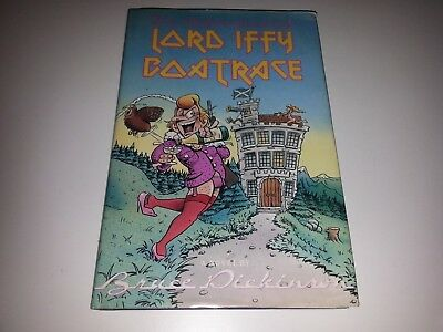 Bruce Dickinson - Lord Iffy Boatrace - SIGNED HARDCOVER(!) BOOK 1990 Iron Maiden