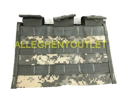 Triple Mag Magazine Pouch Molle Acu 3 X 30 Round Side By Side Military Good
