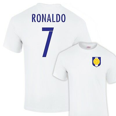 timeless design 70e90 2925e CRISTIANO RONALDO REAL Madrid Name and Number 7 Legend T-Shirt In All Sizes
