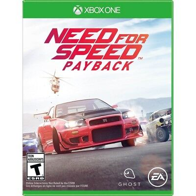 Xbox One Need for Speed Payback Brand New Factory Sealed Xbox 1