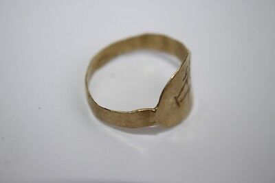 ANCIENT GREEK HELLENISTIC GOLD FINGER RING CENTURY 3rd BC