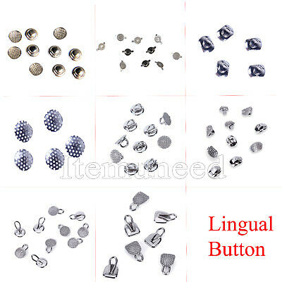 DE 8 Type Dental Orthodontic Lingual Buttons for Dental Use