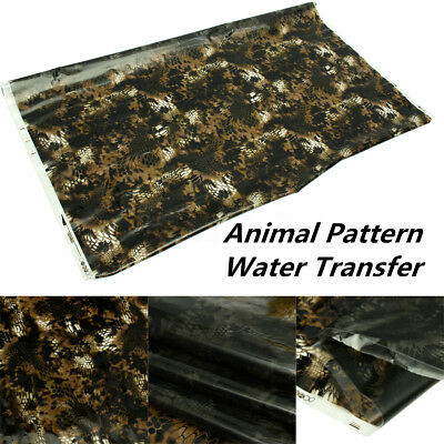 50x200cm Animal lines Printing Water Transfer Film Dipping Hydrographics Hydro