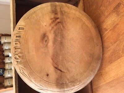 Vintage Traditional Carved Wooden Bread Board – Kitchenalia! –
