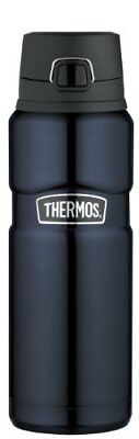NEW Thermos Stainless Steel King Drink Bottle 24 oz. - Midnight Blue